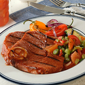 Eye-Opening Spicy Bloody Mary Ham Steaks