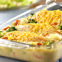 Cheesy Chicken & Rice Casserole